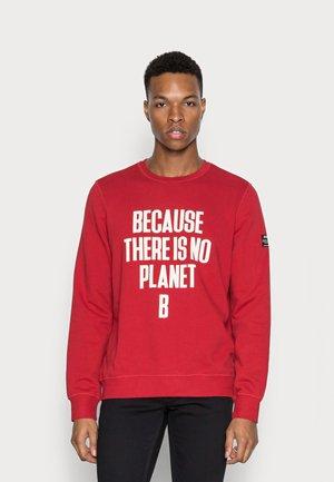 BARDERALF - Sweatshirt - red