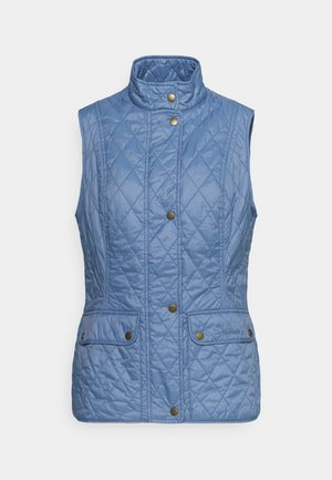 OTTERBURN GILET - Waistcoat - blue mist