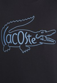Lacoste - Print T-shirt - dark blue - 6