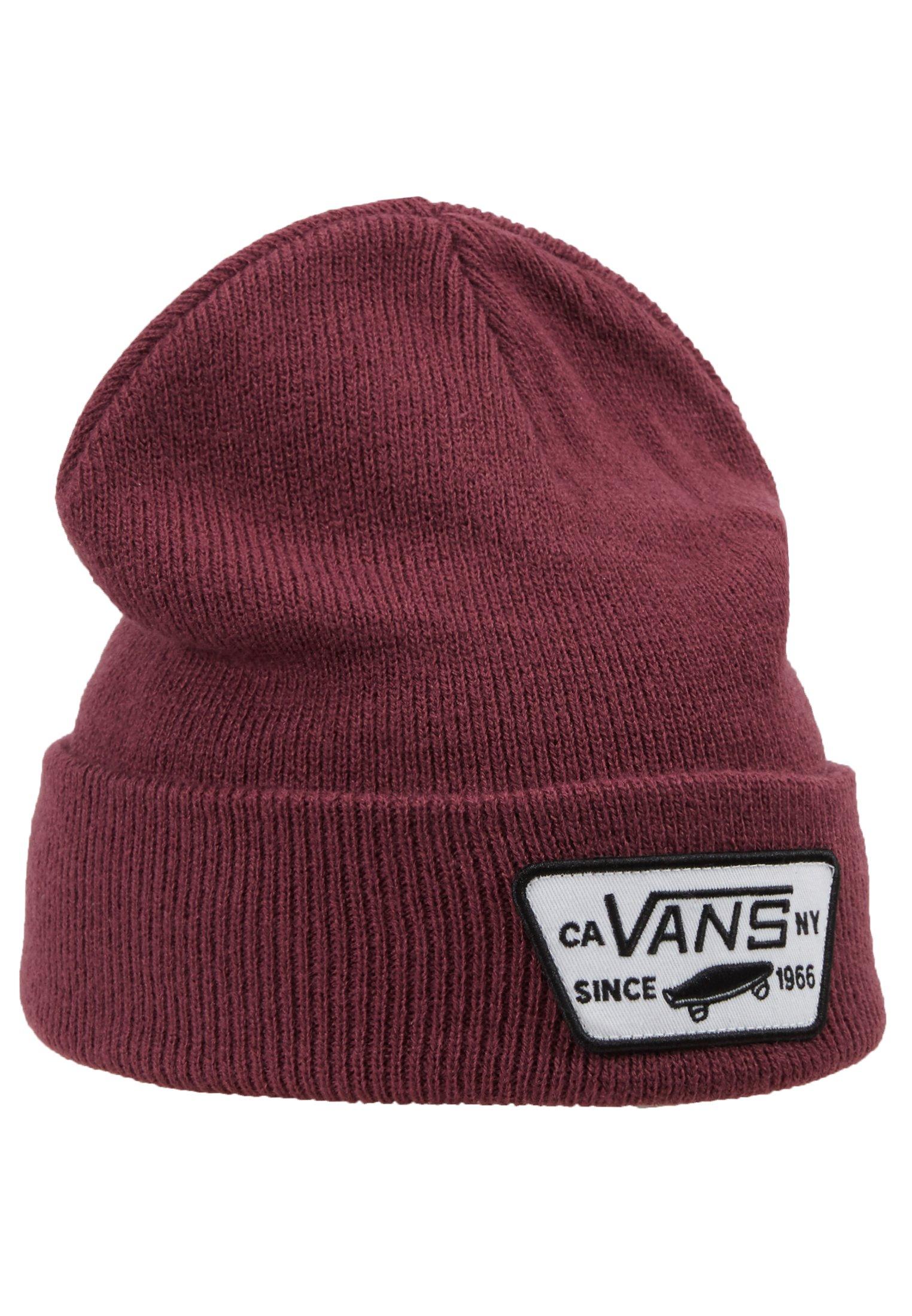 Vans Milford - Mütze Black/schwarz