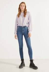 Bershka - Jeans Skinny Fit - light blue - 1