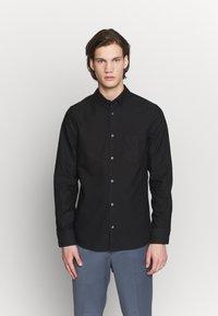 Filippa K - TIM OXFORD - Košile - black - 0