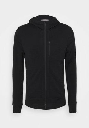 QUANTUM III ZIP HOOD - Zip-up sweatshirt - black