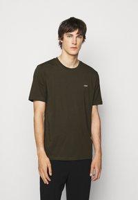 HUGO - DERO - T-shirt basic - dark green - 0