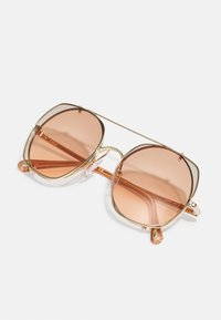 Chloé - Occhiali da sole - gold-coloured/brown - 3