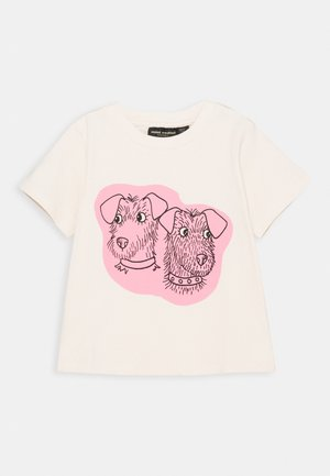 BABY TERRIER TEE UNISEX - Print T-shirt - offwhite