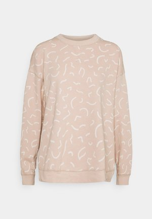 KIRBY EASY SQUIGGLES - Sweater - avalon pink