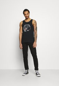 Quiksilver - FADING OUT TANK - Top - black - 1