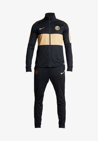 Nike Performance - INTER MAILAND DRY SUIT SET - Klubtrøjer - black/truly gold - 7