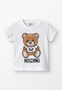 MOSCHINO - MAXI BABY UNISEX - T-Shirt print - cloud - 0