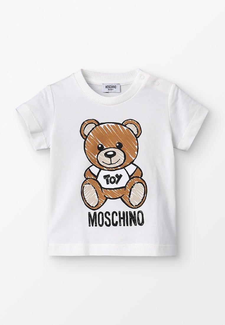 MOSCHINO - MAXI BABY UNISEX - T-Shirt print - cloud