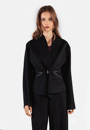 Summer jacket - schwarz-blau
