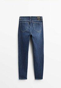 Massimo Dutti - Jeans fuselé - dark blue - 1