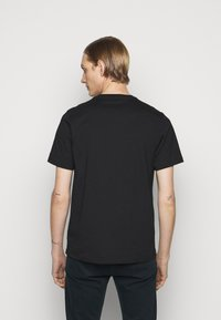 PS Paul Smith - SCRIBBLE ZEBRA - T-shirt basic - black