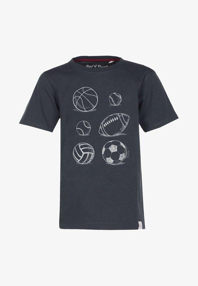 BALLS - Print T-shirt - grey