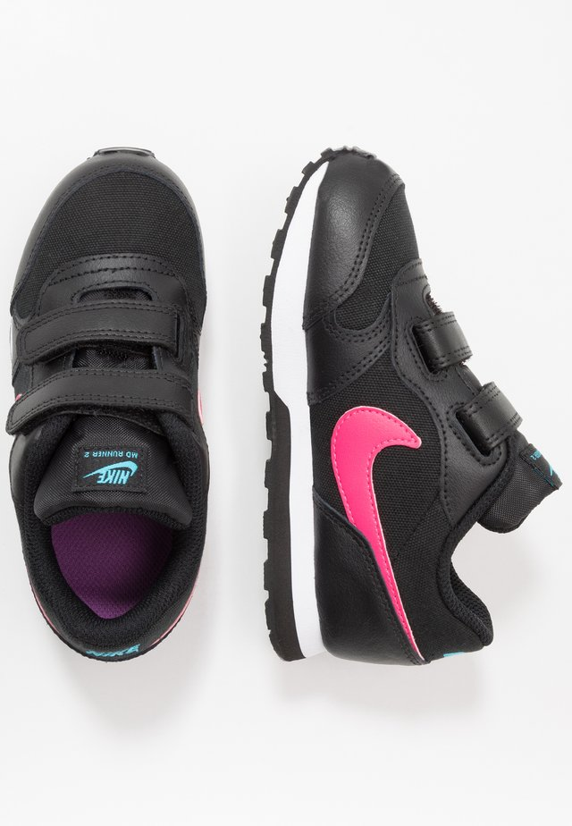 MD RUNNER 2 - Sneakersy niskie - black/watermelon/blue fury/purple