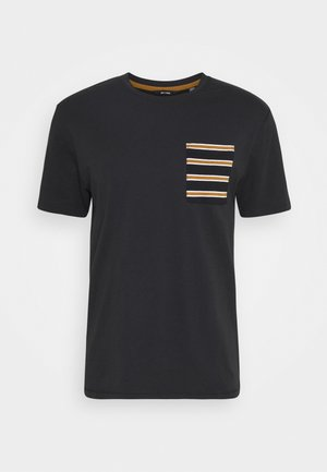ONSMELTIN LIFE POCKET TEE - Print T-shirt - black