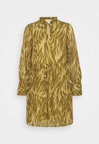 Object Petite - OBJZANIA  DRESS - Day dress - khaki - 4