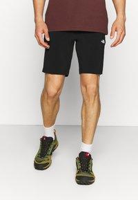 The North Face - GLACIER SHORT - Sports shorts - black - 0