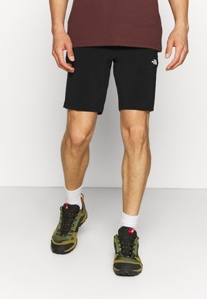 GLACIER SHORT - Sportovní kraťasy - black