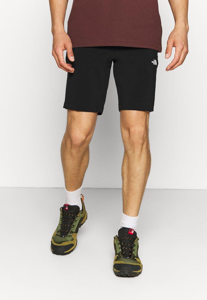 The North Face - GLACIER SHORT - Sports shorts - black