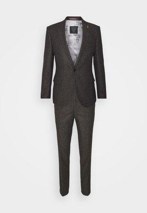 CRANTON SUIT - Kostym - brown