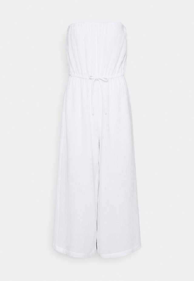 THRIFT SHOP DOUBLE CLOTH STRAPLESS - Strandaccessoire - white