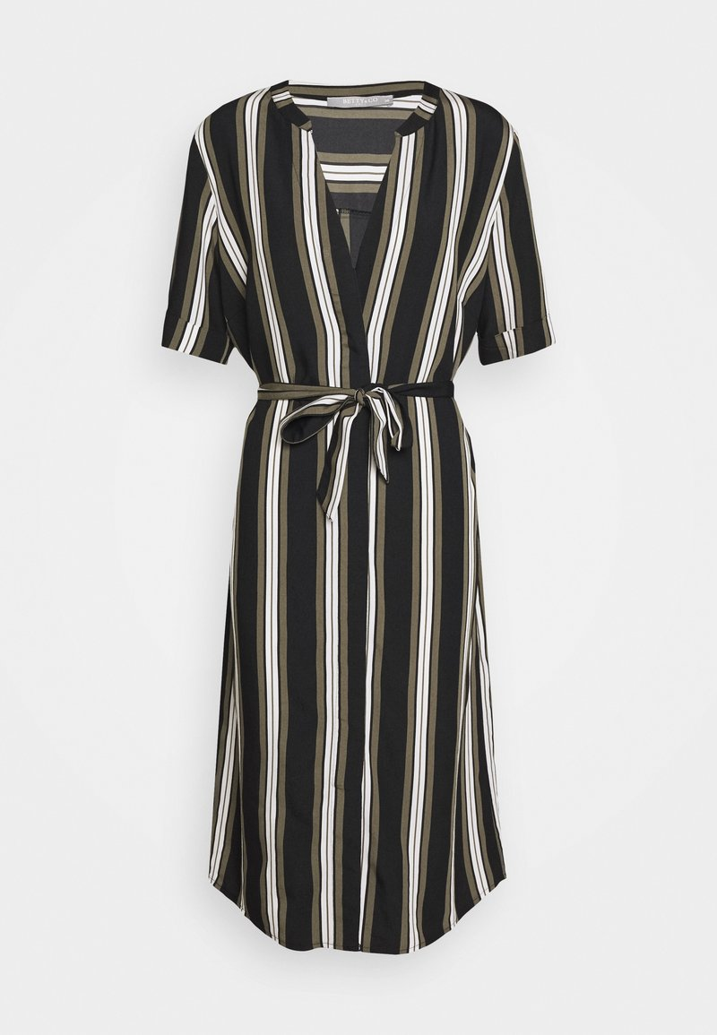 Betty & Co - Day dress - khaki/black