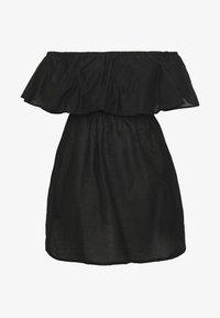 Simply Be - VALUE BARDOT BEACH DRESS - Doplňky na pláž - black - 4