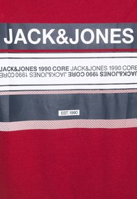 Jack & Jones - JCOBOOSTER TEE CREW NECK - Print T-shirt - sun-dried tomato - 2