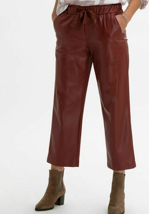 STYLE MAINE S - Trousers - rosewood
