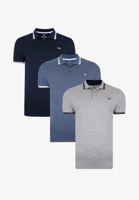 Threadbare - THREADBARE POLO SHIRT ALFIE 3ER PACK - Polo shirt - mehrfarbig - 3