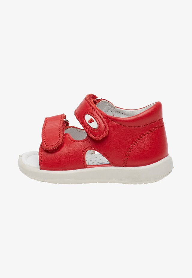 NEW RIVER - Chaussures premiers pas - red