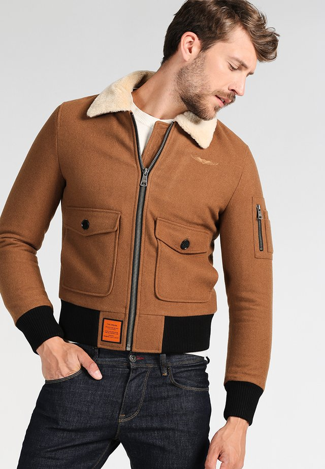 AVIATOR - Light jacket - camel