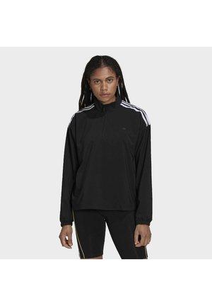 HALF-ZIP TREFOIL MOMENTS LOOSE - Giacca sportiva - black