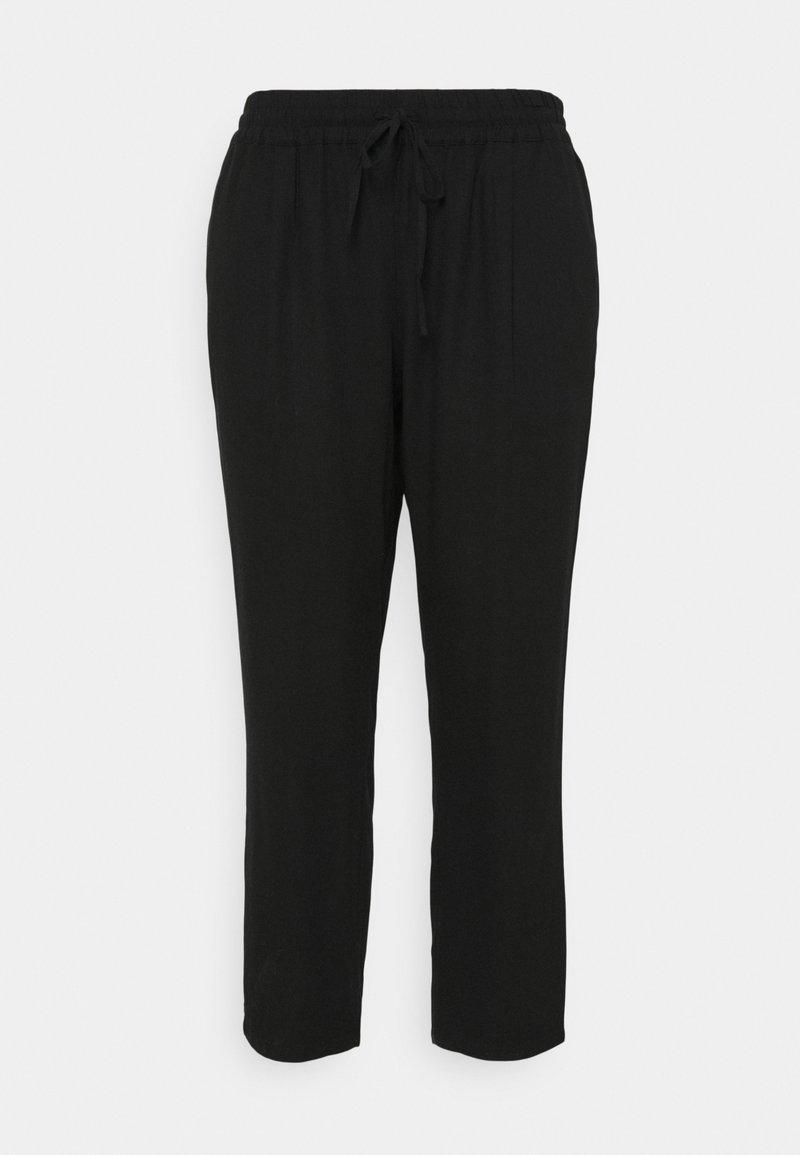Vero Moda Curve - VMASTIMILO ANKLE PANTS - Kalhoty - black