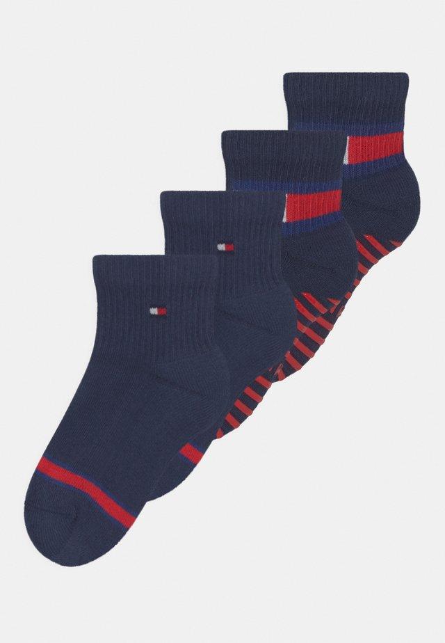 FLAG 4 PACK UNISEX - Socks - dark blue