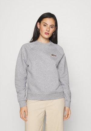 CREW - Sweatshirt - silver chine