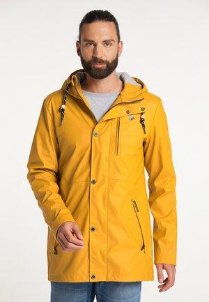 Waterproof jacket - curry