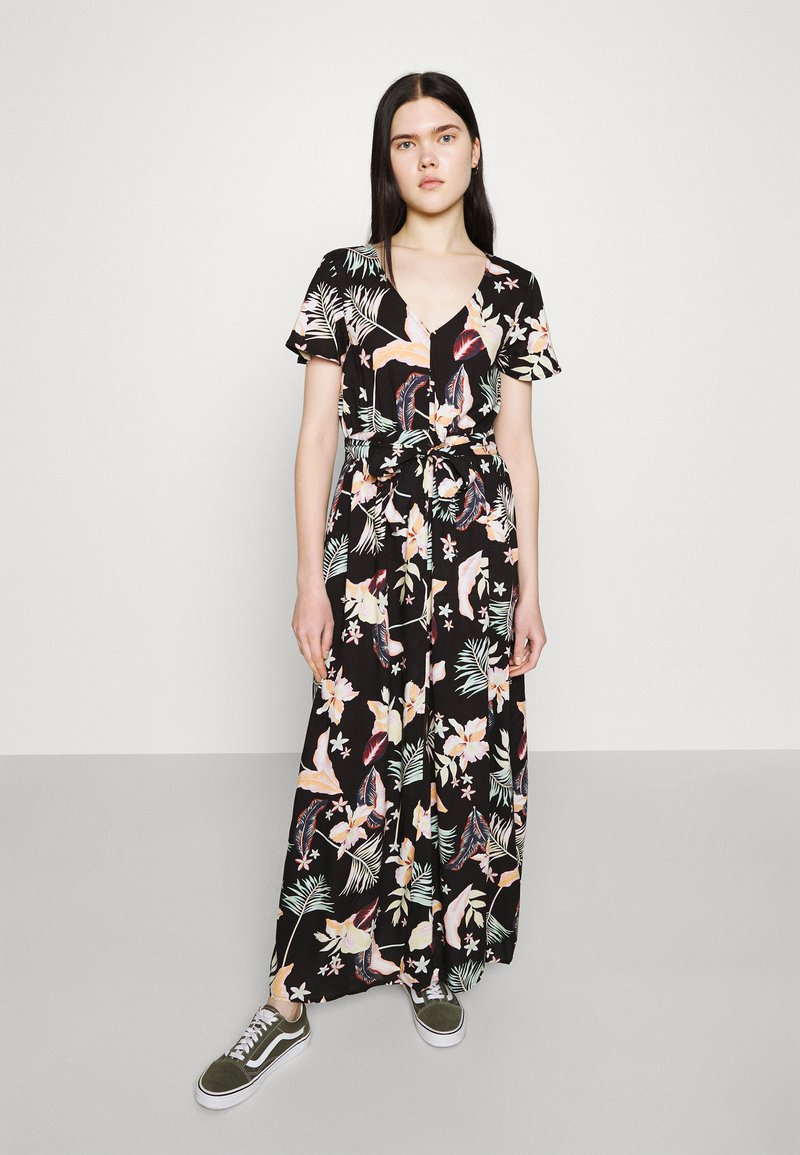 Roxy - A NIGHT TO REMEMBER - Maxi dress - anthracite