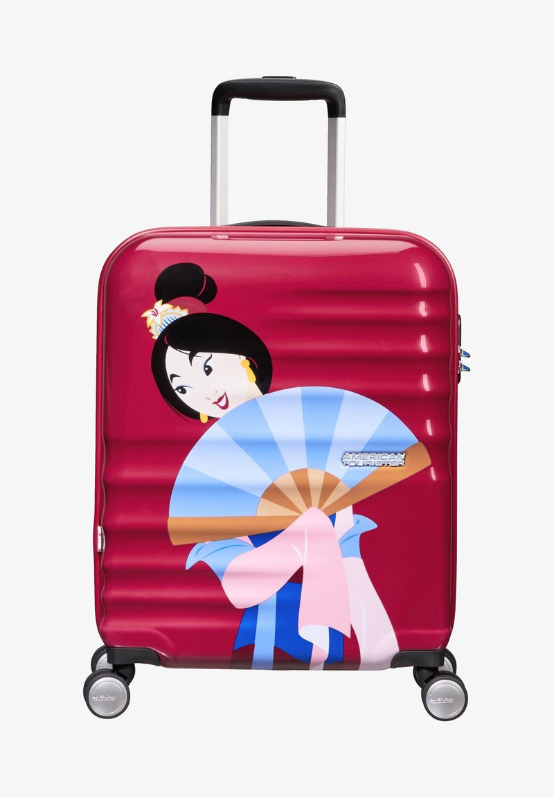 American Tourister - WAVEBREAKER DISNEY - Wheeled suitcase - bordeaux