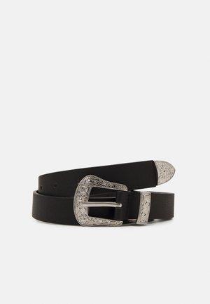 PCLARAH WAIST BELT - Belte - black/silver