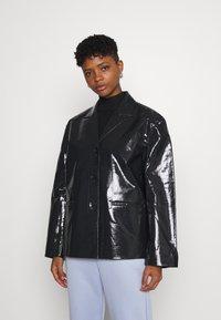Weekday - ZANA SHORT JACKET - Light jacket - black - 0