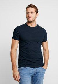 s.Oliver - KURZARM - Basic T-shirt - fresh ink melange - 0