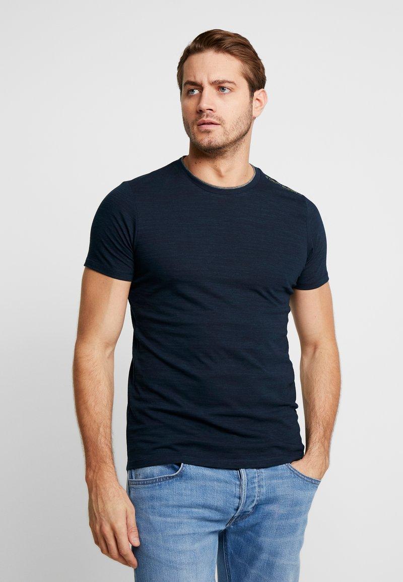 s.Oliver - KURZARM - Basic T-shirt - fresh ink melange