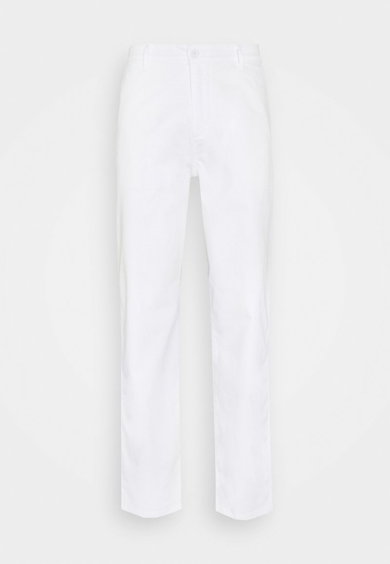 DOCKERS - ALPHA ICON TAPERED - Trousers - paper white