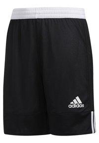 adidas Performance - 3G SPEED REVERSIBLE SHORTS - Sports shorts - black/white - 2