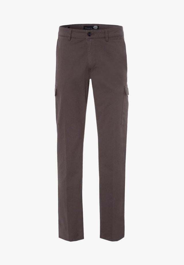 BJARNE - Cargo trousers - mittelgrau