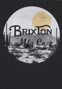 Brixton - WHEELER - T-shirt imprimé - black/blonde - 2