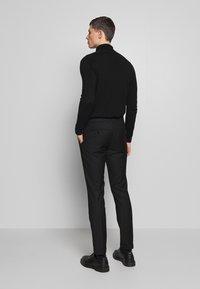Limehaus - SUIT SLIM FIT - Suit - black - 6